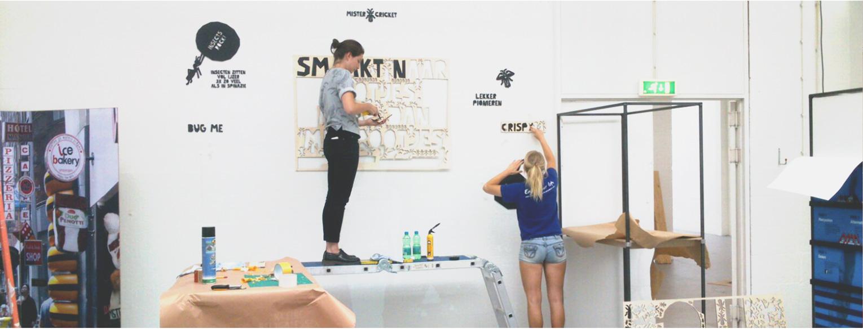 De werkwijze van Sandra Jørgensen