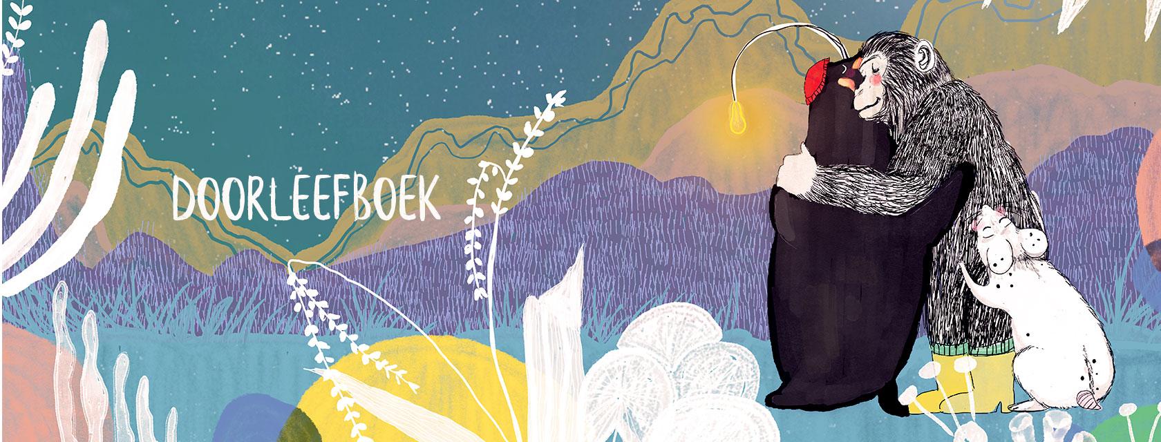 Doorleefboek - een sociaal project waarbij een boek is uitgebracht dat kinderen helpt met rouw om te gaan